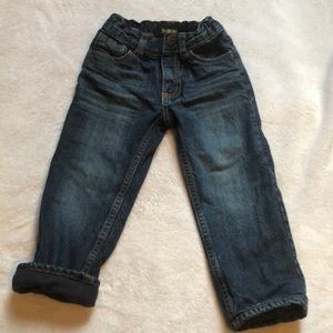 Oshkosh fleece lined jeans